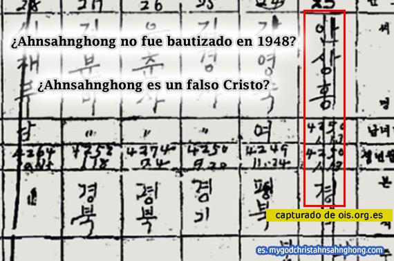 La Iglesia Adventista del Séptimo Día insiste que Ahnsahnghong es un seceder