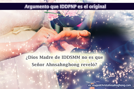 IDDPNP insisten que Ahnsahnghong nunca reveló Dios Madre durante la última Pascua